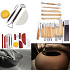 Clay Sculpting Set Wax Carving Pottery Tools Ceramic Polymer Shapers DIY Sets image