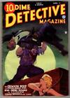 Dime Detective Apr 1, 1935 Cornell Woolrich, Baumhofer Whip Cvr, T.T. Flynn image