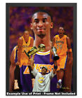 Kobe Bryant LA Lakers Los Angeles Art 3 NBA Basketball 8x10-48x36 CHOICES