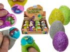 Squeeze Dino Egg With Dinosaur - Fun Toy Stress Relief Ball Squeezy Kids