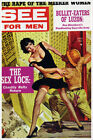 See Men vintage pulp magazine cover art poster on archival   CANVAS