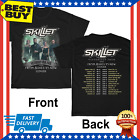 SKILLET Victorious Tour 2020 T Shirt with From Ashes to New & LEDGER M - 3XL image