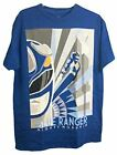 Power Rangers Mighty Morphin Blue Ranger Action Flying Graphic Adult T-Shirt $14.95 USD on eBay