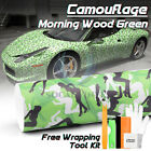Blue Black White Gray Camouflage Camo Vinyl Sticker Wrap Decal Air Release