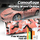 Light Blue Black White Gray Camouflage Camo Vinyl Sticker Wrap Air Release