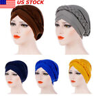 Muslim Braid Head Cover? Cancer Hijab Turban Wrap US Chemo Cap Women Scarf Hat