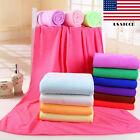 Microfiber Absorbent Drying Bath Swimwear Washcloth Towel Beach 70x140cm Shower