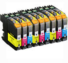 LC203 LC201 Ink Set Compatible for Brother BCMY MFC-J460DW MFC-J480DW MFC-J485DW