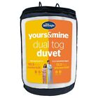 Silentnight Yours & Mine Dual Duvet 10.5 & 13.5 Tog Single Double King Super K