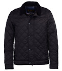 Barbour Men's Black Tailored Fit Quilted Jacket $280