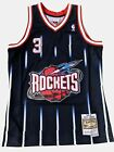 Steve Francis Houston Rockets Mitchell & Ness Navy Swingman Jersey NBA on eBay
