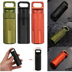 """EDC Waterproof Pill Case Capsule Seal Bottle Container Box Outdoor Survival 4"""""""