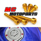 Aluminum Fuel Cap Bolts Kit For Triumph Daytona 955i 98-00 Speed Four $19.8 USD on eBay