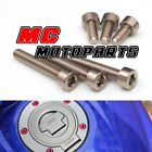 Aluminum Fuel Cap Bolts Kit For Triumph Speed Four 02-06 Speed Triple 955i $19.8 USD on eBay