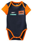 KTM Replica Baby Body Body Bodysuit Blue Orange New