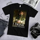 I Drink and I DON'T Do Things GOT Social Distance Game Of Thrones T-Shirt S-4XL