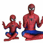 Spiderman Cosplay Jumpsuit Superhero Kids Mens Homecoming Costume Outfit Suits