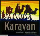 307356 San Francisco California Karavan Camel Orange Fruit Crate PRINT POSTER UK