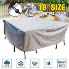Outdoor Furniture Cover Uv Waterproof Garden Yard Table Chair Shelter Protector