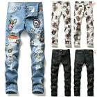 New Men Skinny jeans Stretchy Pant Rip Jeans Frayed Jeans Casual Pant denim Pant