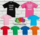 Kids Custom Printed T Shirt Promotional Personalised Print T-Shirt Children