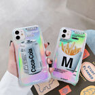 Coca-Cola French fries Clear Phone Case Cover For iPhone 11Pro 7 8Plus XR XsMax $11.07  on eBay