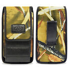 Wider Vertical Camouflage Pouch Fits with Hard Shell Case 5.3 x 2.64 x 0.63 inch