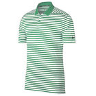 NIKE Green White Stripe Victory Golf Dri-Fit Performance Rugby Polo Shirt Lg L $39.99 USD on eBay