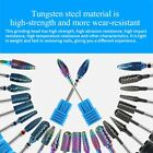 Nail Plating Color Tungsten Steel Head Nail Drill File Grinding Polishing Tool