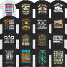 DAD T-SHIRT, Father's Day, Daddy, Gift, For Him, Present, Mens, Printed, Top,Tee