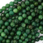Kyпить Natural Green African Jade Round Beads 15.5