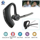 Wireless Headset Bluetooth Music Earphone Handsfree For Driving Business Sports