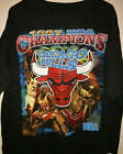 New Vintage 1997 Chicago Bulls Rap Bootleg Black T-Shirt Reprint FREESHIPPING image