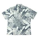 Reyn Spooner Mens Avenue Falls Classic Fit Button Up Ink Navy M New