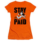 Monopoly - Stay Paid - Juniors T-Shirt
