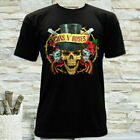 NEW GUNS N'ROSES ROCK METAL BAND GRAPHIC MENS SHORT SLEEVE T-SHIRT SIZE S M L XL image