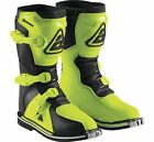 Answer AR1 Youth MX Offroad Boots Hyper Acid/Black