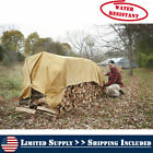 17oz Heavy Duty Multiple Size Canvas Tarp Tarpaulin Drab Water Resistant Outdoor