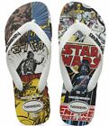 Havaianas Unisex Star Wars Flip Flips Sandals Chewbacca Comic Darth Vader Disney $26.3 USD on eBay