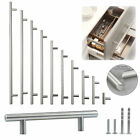 Solid Stainless Steel Brushed Nickel T Bar Pull Kitchen Cabinet Handle 2