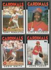 1980 to 2020 Topps ST LOUIS CARDINALS Team Sets  --  Pick Your Team and Year -- Baseball Cards - 213