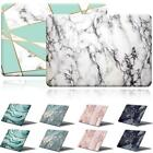'Marble Pattern Rubberized Cover Case For Apple Macbook Air Pro 11 13 15 Inch