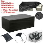 Heavy Duty Garden Patio Furniture Table Cover For Rattan Table Cube Set Outdoor
