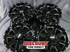 4 USED 20X9 6-139.7 MOTO METAL MO962 BLACK 20