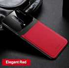 For Oneplus 8 Pro 7T 6 Luxury Leather Shockproof Slim Tempered Glass Case Cover