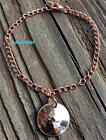 BIRTHDAY PENNY BRACELET PICK YEAR! SOLID COPPER CHAIN ANNIVERSARY GIFT 50 40 30