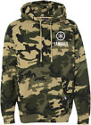 Official Yamaha Camo Pullover Hoodie Sweatshirt - All Sizes