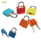 Mini Colourful Diary Protector Luggage Padlock Strong Steel Lock Security Tool