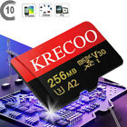 New 256GB Micro Memory Card 100MB/S 4K Class10 Flash TF Card with Adapter US