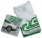 Porsche Genuine RS Vintage Style White T-Shirt with Collectors Tin
